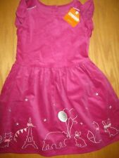 NWT Gymboree Starry Night size 5T Pink Corduroy Animal Parisian Dress