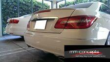 Heckspoiler für Mercedes E-Klasse A207 C207 Cabrio Coupe Spoiler hinten W207 ABS