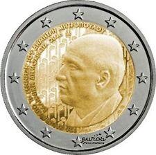 """2 euros commémorative Grèce 2016 """"Dimitri Metropoulos"""" - 742 500 exemplaire  UNC"""