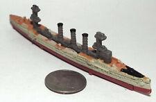 Small Micro Machine Military Plastic German WWII type Cruiser SMS Emden
