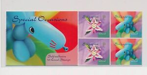 LO37823 Singapore special occasions good booklet MNH