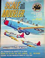 Vtg. Scale Modeler Magazine April 1975 Douglas Devastator 1/48th Scale m85
