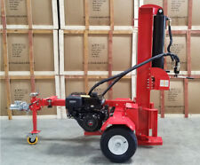 New 50 Ton 15HP Gas Powered Hydraulic Log Wood Splitter Cutter w/ Electric Start