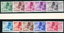 Congo 1960 Mi 1 - 10 independance MNH