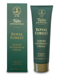 Royal Forest Luxury Aftershave Cream - Taylor of old Bond Street England