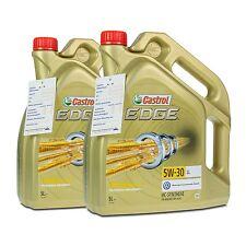 10 (2x5) Liter Castrol EDGE 5W-30 LL Motorenöl VW 504 00/ 507 00