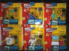 Simpsons Playmates 16 15 14 13 12 series wave figures set