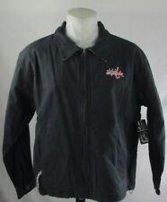 Washington Capitals Men NHL Navy Blue Lightweight Canvas Work Jacket M L XL