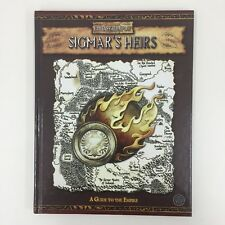 WARHAMMER FANTASY ROLEPLAY SIGMAR'S HEIRS A GUIDE TO THE EMPIRE HARDBACK (2005)