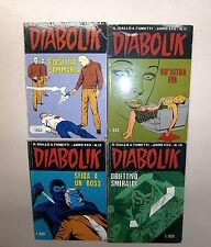 DIABOLIK # Anno XXV N.4-11-12-13 # Fumetti # Casa Editrice Astorina