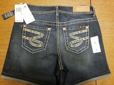 NWT Women's Size 4 Seven 7 Buckley Blue Denim Shorts MSRP $49