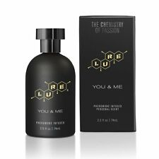 LURE FOR YOU & ME SEX ATTRACTANT PHEROMONE COLOGNE PERFUME BLACK LABEL 2.5 oz