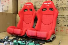 1x Bride Seat stradia lowmax, XL size Red.