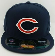 Chicago Bears NFL/59FIFTY/Fitted/Cap/Hat/Sideline/On-Field/Football/NWT