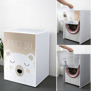 Drum Washing Machine Dust Cover Clean Waterproof Front Loading Household Goods