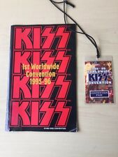KISS 1st Worldwide Convention 1995-1996 Program with Access Pass