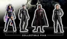 X-MEN APOCALYPSE - Original Promo Movie Pin Complete Set of 4 New AMC 2016