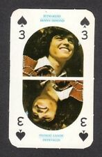 The Osmonds Donny Marie Osmond 1970s Hitmakers UK Gum Pop Rock Playing Card D