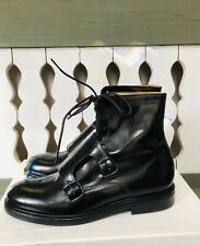 NWB Carven Buckle/strings Tie Ankle Boots Size 39 Beautiful