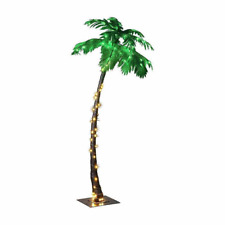 Lightshare New Lighted Palm Tree Large ZLS7FT 96 LED 7 Feet Home Garden Decor