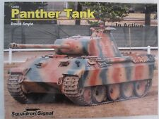 Squadron Book: Panther Tank In Action - 180+ photographs & illustrations