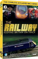 THE RAILWAY KEEPING BRITAIN ON TRACK NEW 2 DVD SET COMPLETE BBC 2