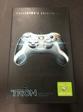 Tron Legacy PDP Collector's Edition Xbox 360 Wired Controller White New In Box