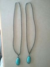 Handcrafted Stone Howlite Oval Pendant Necklace Great Gift Item Lead free