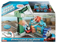 Thomas Friends Dvf73 Trackmaster Demolition at The Docks Playset
