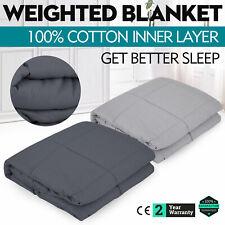 Weighted Blanket 40x60 inch 10/15 Lbs Heavy Sensory Relief Anxiety Deep Sleep