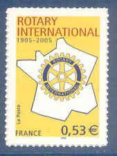 Timbre Y&T n°52 Centenaire du Rotary International autoadhésif neuf**
