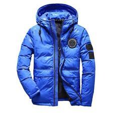 Mens Winter Warm Down Jacket Student Jacket Snow Hooded Coat Climbing Oversize