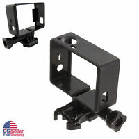 New Gopro Frame Mount For Gopro Hero 3 And 3+plus Hero 4 Silver, Black Accessory