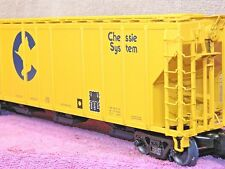 "LIONEL SCALE #6-17193 WESTERN MARYLAND ""CHESSIE CAT"" PS-2 CD COVERED HOPPER!!"