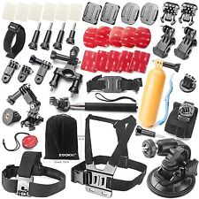 GO PRO HERO ACCESSORI 39in1 per Hero Gopro Hero 4 3 + 3 2 1 SJ4000 SJ5000 SJ6000