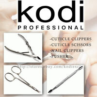 Kodi MANICURE TOOLS for cuticle and nail clippers / scissors / pusher / cosmetic