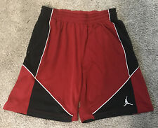 Nike Air Jordan Jumpman Dri-Fit Red Basketball Shorts Sz Xl Euc W/ Pockets