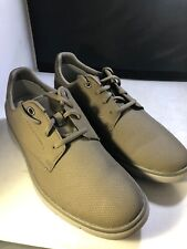 Clarks Mens Casual Shoes Size 9m #26128782 Stone (a910)
