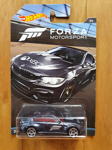 HOT WHEELS 2017 ~ FORZA MOTORSPORT ~ 3/6 BMW M4 (*)