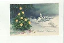 137047 cartolina auguri augurale buon natale frohliche weinhacht