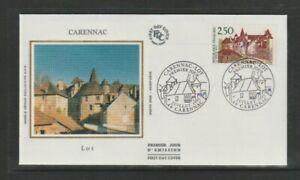 France 1991 SG3025 Yvert2705FDC (Carennac)-Old Town-Carennac-Lot-Tourism Issue