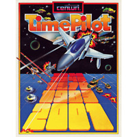 Time Pilot Free play and High Score Save Kit Arcade