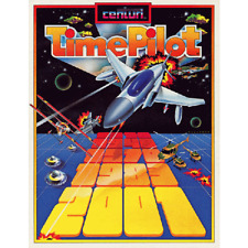 Time Pilot Free play and High Score Save Kit