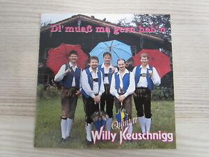 CD / WILLY KEUSCHNIGG QUINTETT - DI MUAß MA GERN HAB'N  / AUSTRIA / RARITÄT /