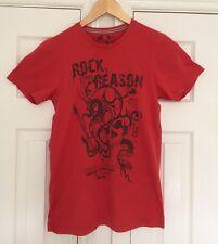 Camiseta para hombre de Burton rojo-tamaño S