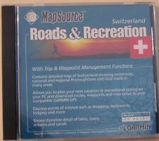 Garmin MapSource Roads & Recreation * Switzerland