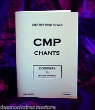 CMP CHANTS. Carl Nagel  Finbarr. Occult Magic. Witchcraft. Grimoire. Magick