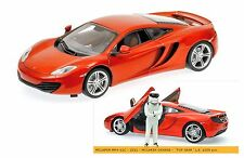"Minichamps 1/18: 519101330 McLaren MP4-12C (2011), Minal-orange, ""Top Gear"""