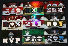 2008 TRIPLE THREADS REYES OZZIE ROLLINS JERSEY BAT /36