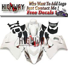 White Pearl Fairings For Suzuki GSXR1300 Hayabusa 2008 - 2014 ABS Fairing Kits f